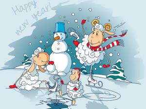 Древний поздравления с новым годом