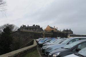 Стоянка у замка Stirling